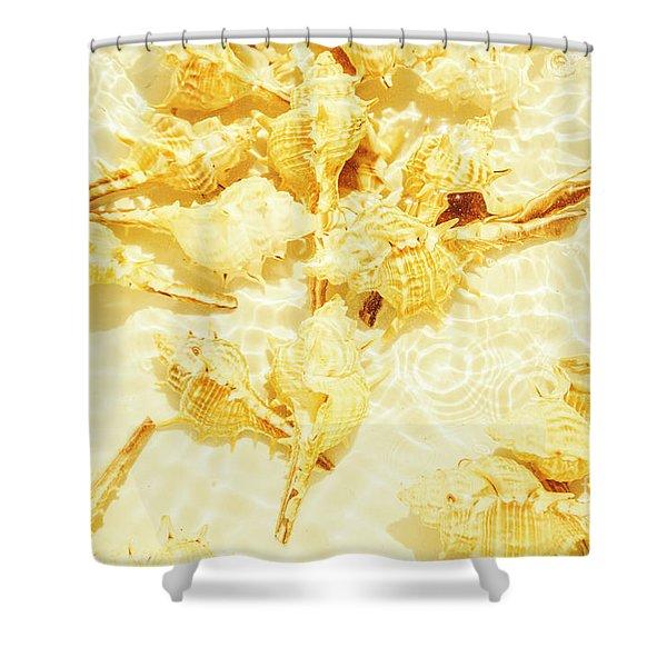 Resort Ripples Shower Curtain