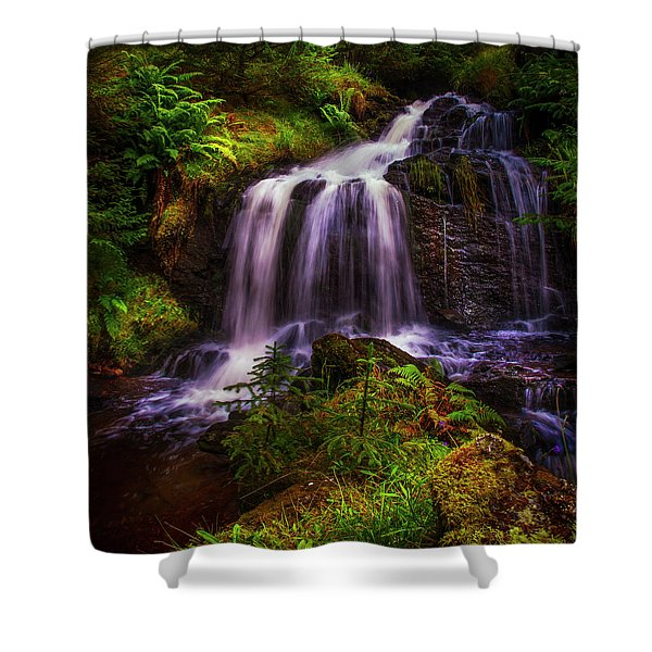 Retreat For Soul. Rest And Be Thankful. Scotland Shower Curtain