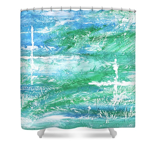 Reunited Shower Curtain