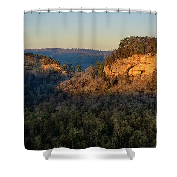 Revenuer's Rock Shower Curtain