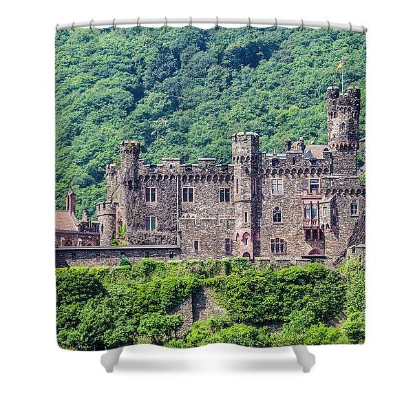 Rheinstein Castle - 2 Shower Curtain