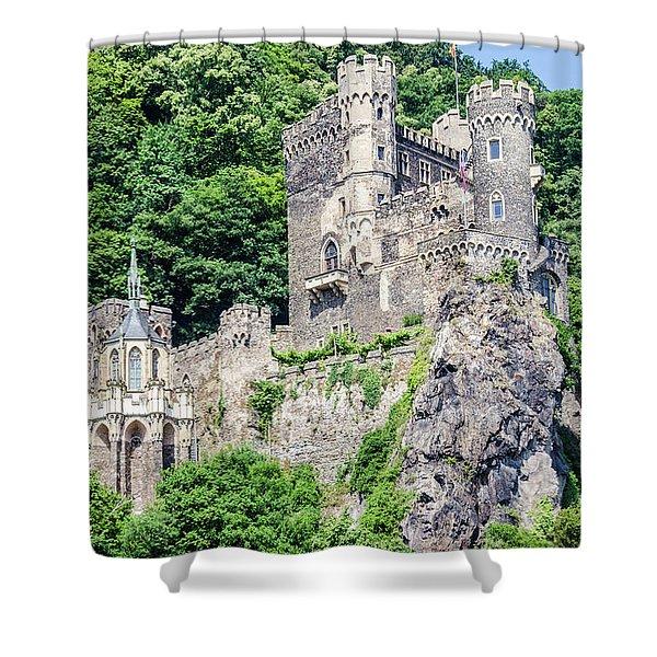 Rheinstein Castle Shower Curtain