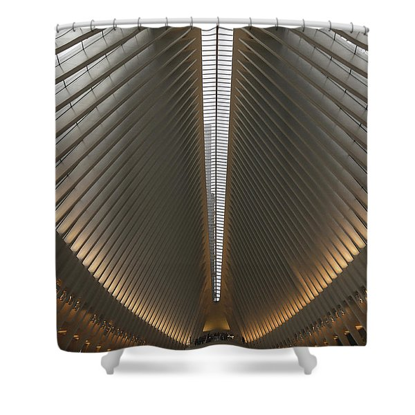 Ribcage Shower Curtain