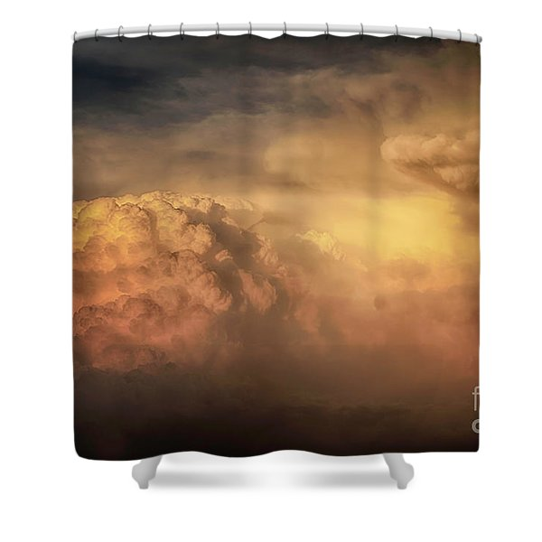 Ride For The Sunset Shower Curtain