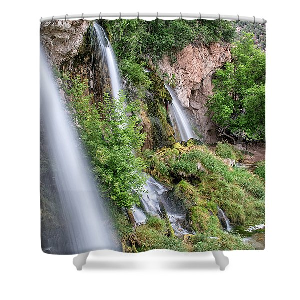 Rifle Falls Shower Curtain