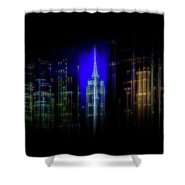 Rise Up New York Shower Curtain