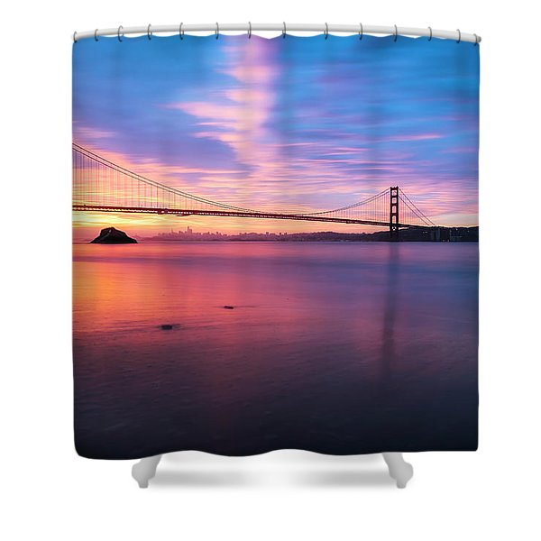 Rise With Me- Shower Curtain