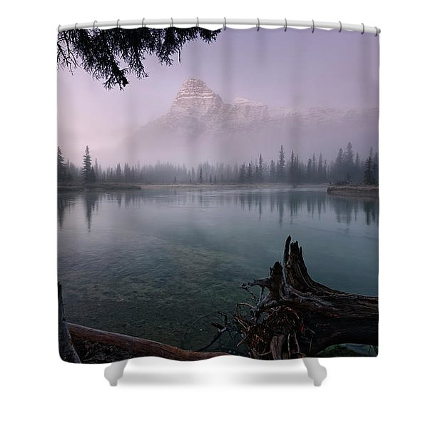 Rising From The Fog Shower Curtain