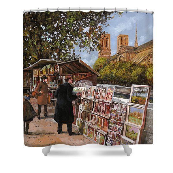 Rive Gouche Shower Curtain