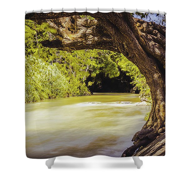 River Banks In Trelawny Jamaica Shower Curtain