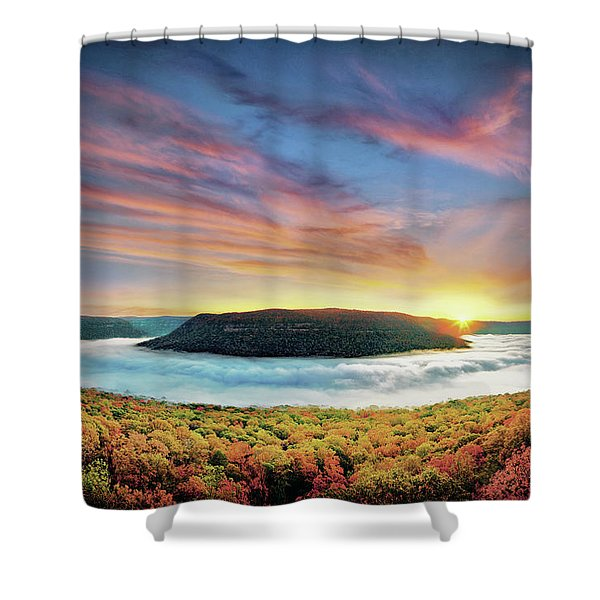 River Of Fog Shower Curtain