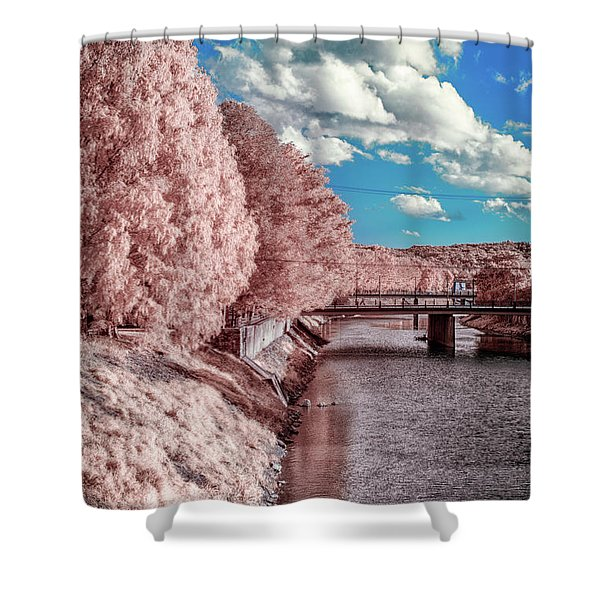 River Walk Shower Curtain