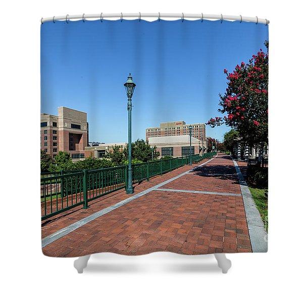 Riverwalk Downtown Augusta Ga Shower Curtain