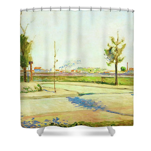 Road To Gennevilliers - Digital Remastered Edition Shower Curtain