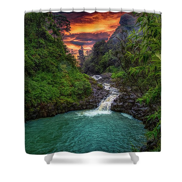 Road To Hana, Hi Shower Curtain