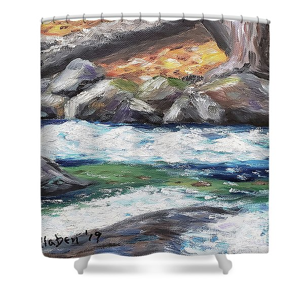 Roaring Brook Shower Curtain