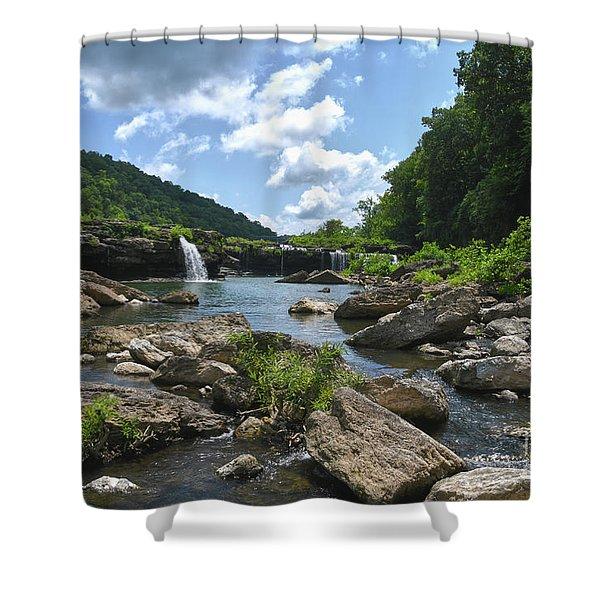 Rock Island State Park 7 Shower Curtain