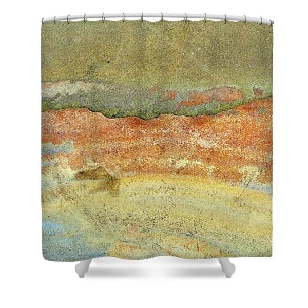 Rock Stain Abstract 2 Shower Curtain