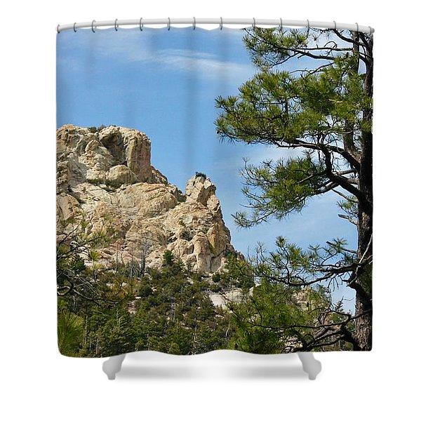 Rocky Peak Shower Curtain