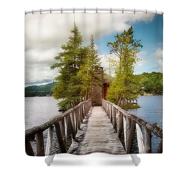 Rocky Point Shower Curtain