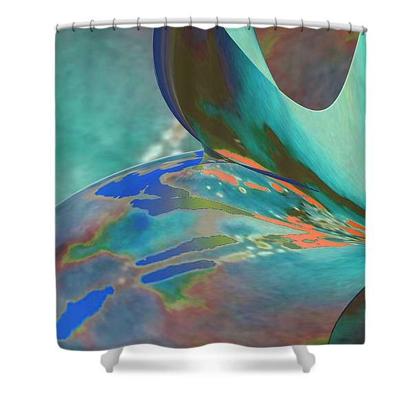 Roll Out Shower Curtain