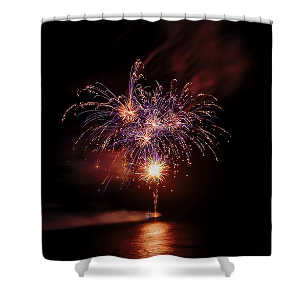 Romancing In The Dark Collection Set 03 Shower Curtain