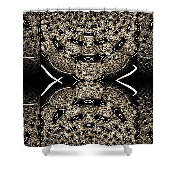Romans Shower Curtain