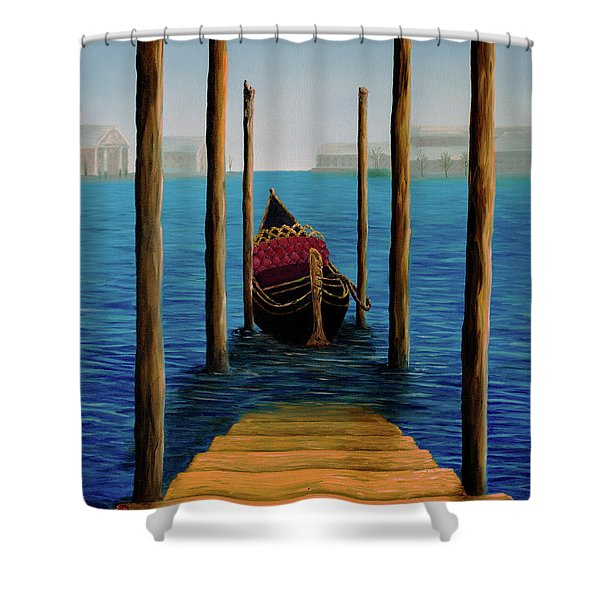 Romantic Solitude Shower Curtain
