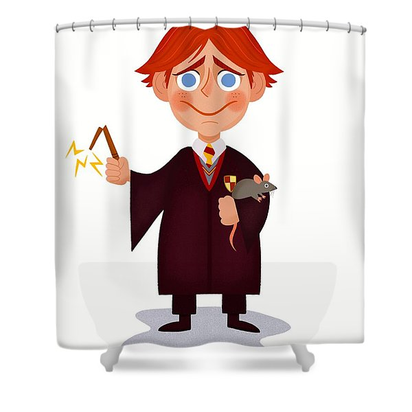 Ron Weasley Shower Curtain