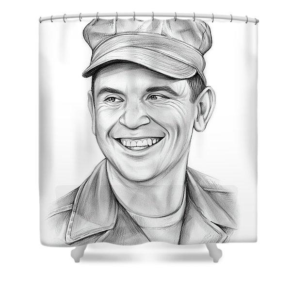 Ronnie Schell Shower Curtain