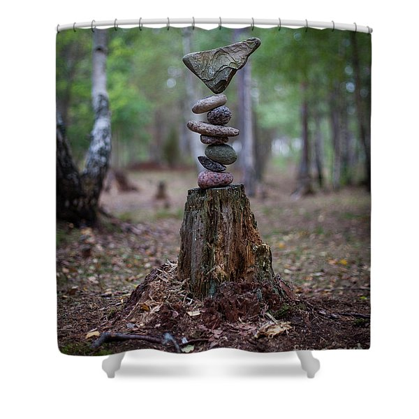 Rootsy Shower Curtain
