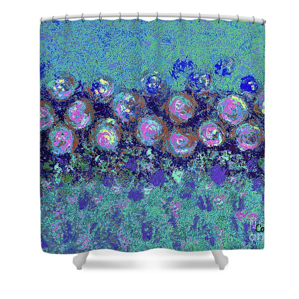 Roses 1002 Shower Curtain