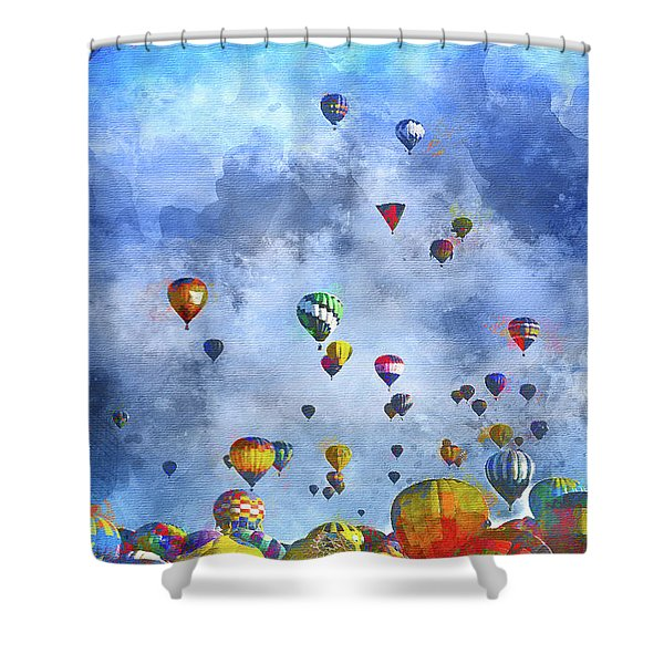 Rough Air Shower Curtain