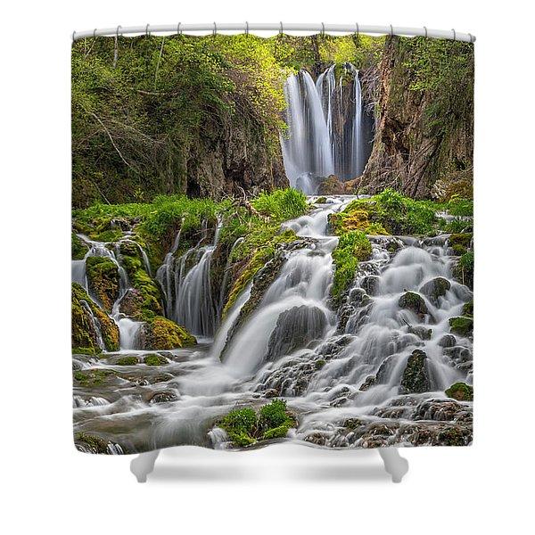 Roughlock Falls II Shower Curtain