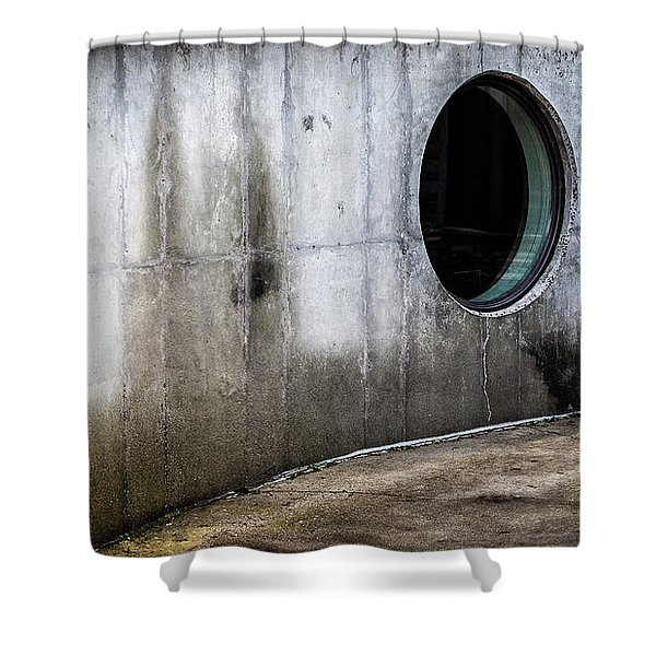 Round Window Shower Curtain