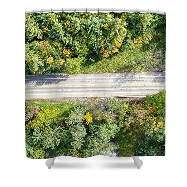 Route 54 Shower Curtain