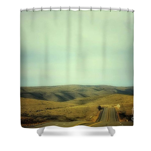 6-mile Hill Shower Curtain