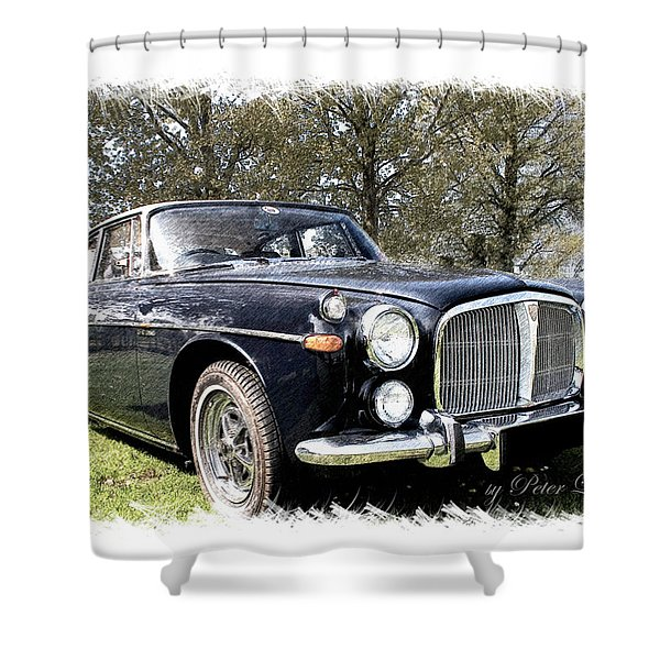 Rover 3.5 Coupe Shower Curtain