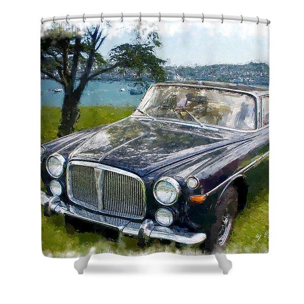 Rover 3.5 P5b Shower Curtain