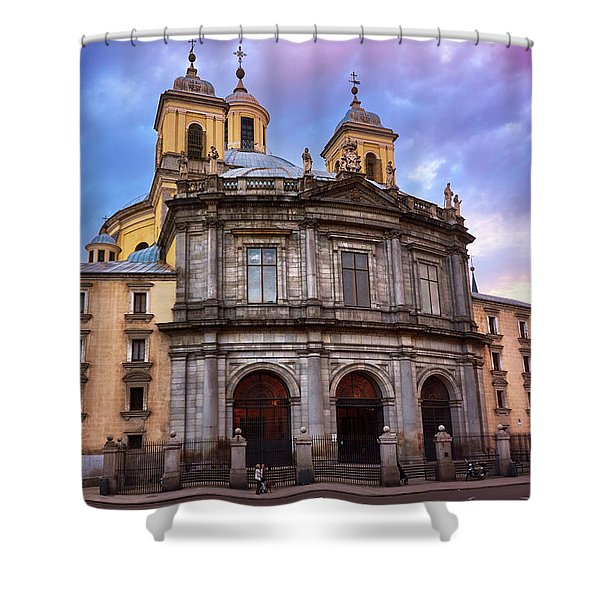 Royal Basilica Of San Francisco El Grande Shower Curtain