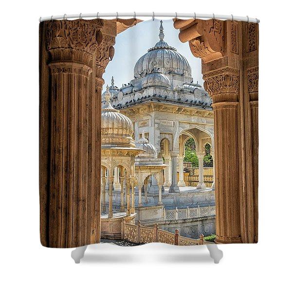 Royal Cenotaphs Shower Curtain
