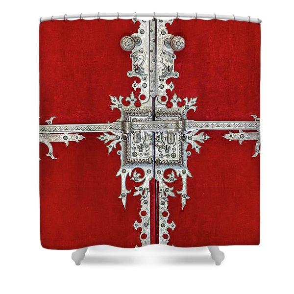Royal Door Of Sintra Shower Curtain