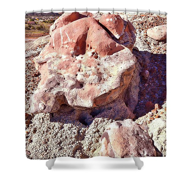 Ruby Mountain 103 Shower Curtain