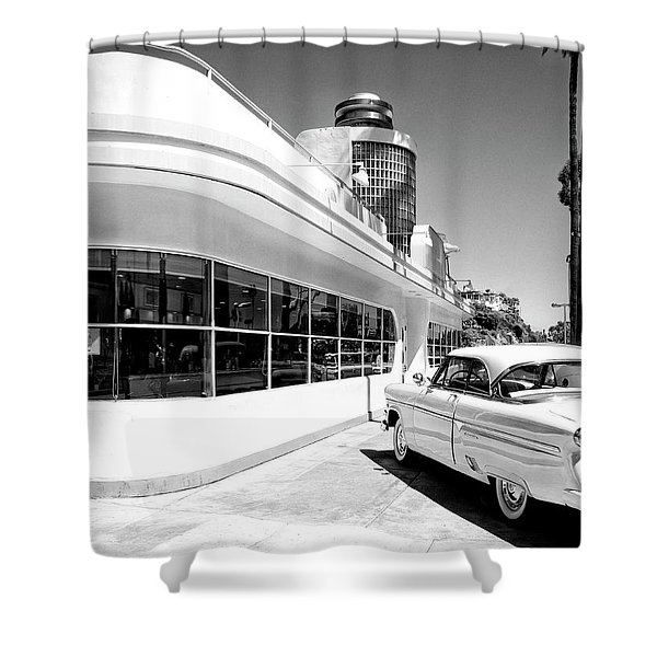 Ruby's Diner Shower Curtain