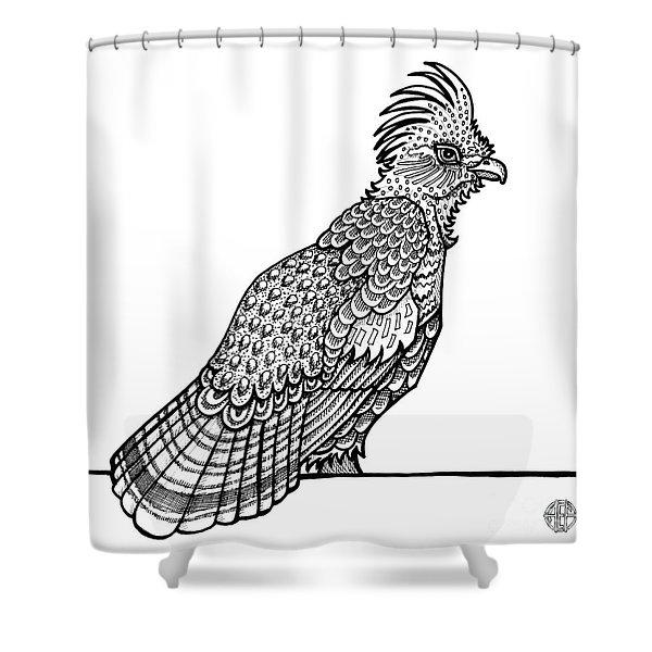 Ruffed Grouse Shower Curtain