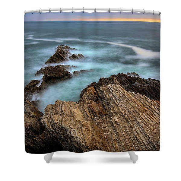 Rugged Beauty  Shower Curtain