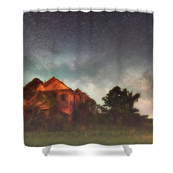 Ruined Dreams Shower Curtain