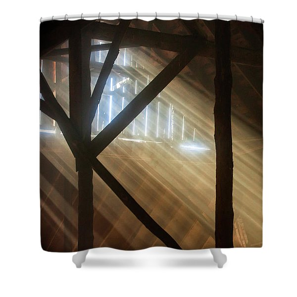 Rural Ligh Shower Curtain