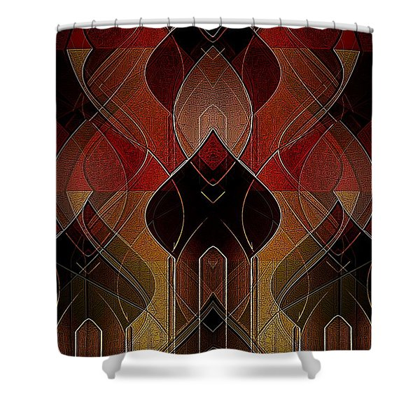 Russian Royalty Shower Curtain