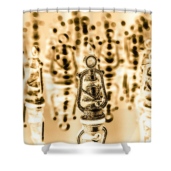 Rustic Reflections Shower Curtain